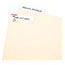 Avery® File Folder Labels, Permanent Adhesive, 1/3 Cut, 252/PK Thumbnail 2