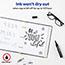 Marks-A-Lot® Desk-Style Permanent Marker, Chisel Tip, Black Thumbnail 4