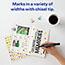 Marks-A-Lot® Desk-Style Permanent Marker, Chisel Tip, Black Thumbnail 3