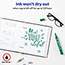 Marks-A-Lot® Large Desk-Style Permanent Marker, Chisel Tip, Green Thumbnail 4
