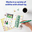 Marks-A-Lot® Large Desk-Style Permanent Marker, Chisel Tip, Green Thumbnail 3