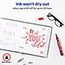 Marks-A-Lot® Large Desk-Style Permanent Marker, Chisel Tip, Red Thumbnail 4