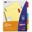 Avery® Big Tab™ Insertable Dividers, Buff Paper, 5-Tab Set, Multicolor Thumbnail 1