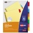Avery® Big Tab™ Insertable Dividers, Buff Paper, 8-Tab Set, Multicolor Thumbnail 1