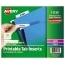 "Avery® Printable Tab Inserts for Hanging File Folders, 1/5 cut, 2"", 100/PK Thumbnail 1"