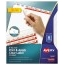 Avery® Big Tab™ Print & Apply Clear Label Dividers, Index Maker® Easy Apply™ Printable Label Strip, 8 White Tabs Thumbnail 1