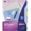 Avery® Big Tab™ Write & Erase Durable Plastic Dividers, 8-Tab Set, Multicolor Thumbnail 1