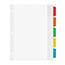 Avery® Movable Tab Dividers, 5-Tab Set Thumbnail 2