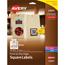 "Avery® Easy Peel® Labels, TrueBlock® Technology, Permanent Adhesive, Print to the Edge, Square, 1 1/2"""" x 1 1/2"""", 600/PK Thumbnail 1"