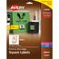 "Avery® Easy Peel® Labels, TrueBlock® Technology, Print to the Edge, Square, 2"" x 2"", 300/PK Thumbnail 1"