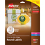 "Avery® Easy Peel® Labels, True Print®, Print to the Edge, Permanent Adhesive, Glossy, 2"" Round, 120/PK Thumbnail 1"