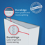 "Avery® Durable Binder, 3"" Slant Rings, 600-Sheet Capacity, DuraHinge®, Blue Thumbnail 2"