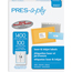 """PRES-a-ply® PRES-a-ply® White Labels, 1 1/3"""" x 4"""", Permanent-Adhesive, 14-up, 1400/BX Thumbnail 1"""