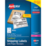 "Avery® Shipping Labels w/ Paper Receipts, TrueBlock® Technology, Permanent Adhesive, 5 1/16"" x 7 5/8"", 50/PK Thumbnail 1"