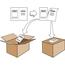 "Avery® Shipping Labels w/ Paper Receipts, TrueBlock® Technology, Permanent Adhesive, 5 1/16"" x 7 5/8"", 50/PK Thumbnail 5"