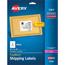 "Avery® Shipping Labels, Laser, TrueBlock® Technology, Permanent Adhesive, 3 1/3"" x 4"", 150/PK Thumbnail 1"