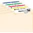 "Avery® File Folder Labels, TrueBlock® Technology, Permanent Adhesive, Assorted Colors, 2/3"" x 3 7/16"", 750/PK Thumbnail 2"