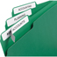 "Avery® File Folder Labels, TrueBlock® Technology, Permanent Adhesive, 2/3"" x 3 7/16"", 1500/BX Thumbnail 2"