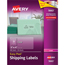 """Avery® Easy Peel® Shipping Labels, Permanent Adhesive, Clear, 2"""" x 4"""", 500/BX Thumbnail 1"""
