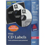 Avery® CD Labels, 100 Disc Labels and 200 Spine Labels/PK Thumbnail 1