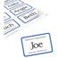"Avery® Adhesive Name Badges, Blue Border, 2 1/3"""" x 3 3/8"""",  400/BX Thumbnail 3"