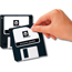 """Avery® Removable Diskette Labels, Removable Adhesive, 2-11/16"""" x 2"""", 375/PK Thumbnail 3"""