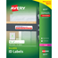 Avery® Permanent Durable ID Laser Labels, 5/8 x 3, White, 1600/Pack Thumbnail 1