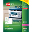 Avery® Permanent Durable ID Laser Labels, 2 x 2-5/8, White, 750/Pack Thumbnail 1