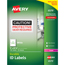 Avery® Permanent Durable ID Laser Labels, 5 x 8-1/8, White, 100/Pack Thumbnail 1