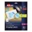 "Avery® Shipping Labels, Print to the Edge, Permanent Adhesive, 3 3/4"" x 4 3/4"", 100/PK Thumbnail 1"