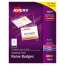 """Avery® Top-Loading Hanging-Style Name Badges, 3"""" x 4"""", 100/BX Thumbnail 1"""