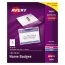 """Avery® Top-Loading Garment-Friendly Clip-Style Name Badges, 3"""" x 4"""",  100/BX Thumbnail 1"""