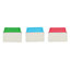 """Avery® Ultra Tabs® Repositionable Multiuse Tabs, Two-Side Writable, 2"""""""" x 1 1/2"""""""", Primary Colors, 24/PK Thumbnail 2"""