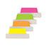 Avery® Ultra Tabs Repositionable Tabs, 2.5 x 1, Green, Orange, Pink, Yellow, 48/PK Thumbnail 2