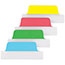 Avery® Ultra Tabs Repositionable Tabs, 2.5 x 1, Blue, Green, Red, Yellow, 48/PK Thumbnail 2