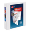 """Avery® Heavy-Duty View Binder, 1 1/2"""" One-Touch Rings, 400-Sheet Capacity, DuraHinge®, White Thumbnail 1"""