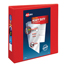 """Avery® Heavy-Duty View Binder, 3"""" One-Touch Rings, 670-Sheet Capacity, DuraHinge®, Red Thumbnail 1"""