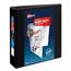 "Avery® Heavy-Duty View Binder, 2"" One-Touch Slant Rings, 500-Sheet Capacity, DuraHinge®, Black Thumbnail 1"