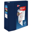 """Avery® Heavy-Duty View Binder, 5"""" One-Touch Rings, 1,050-Sheet Capacity, DuraHinge®, Navy Blue Thumbnail 1"""
