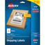 "Avery® Internet Shipping Labels, TrueBlock® Technology, Permanent Adhesive, 5 1/2"" x 8 1/2"", 50/PK Thumbnail 1"
