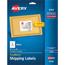 "Avery® Shipping Labels, Inkjet, TrueBlock® Technology, Permanent Adhesive, 3 1/3"" x 4"",  150/PK Thumbnail 1"