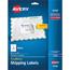 "Avery® Shipping Labels, TrueBlock® Technology, Permanent Adhesive, 3 1/2"" x 5"", 100/PK Thumbnail 1"