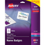 "Avery® Adhesive Name Badges, 2 1/3"""" x 3 3/8"""", 160/PK Thumbnail 1"
