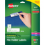 Avery® Removable Extra-Large File Folder Labels, Removable Adhesive, 1/3 Cut, 450/PK Thumbnail 1