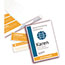 """Avery® Name Badge Insert Refills, 4 1/4"""" x 6"""", White, 100/Pack Thumbnail 2"""