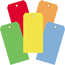 "W.B. Mason Co. Shipping Tags, 13 Pt., 6 1/4"" x 3 1/8"", Assorted Color, 1000/CS Thumbnail 1"