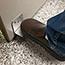 Nemco Clean Getaway™ Stainless Steel Hands-Free Door Opener, Foot Unit Thumbnail 2