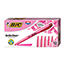 BIC® Brite Liner Highlighter, Chisel Tip, Fluorescent Pink Ink, DZ Thumbnail 1