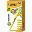 BIC® Brite Liner Highlighter, Chisel Tip, Yellow Ink, 24/PK Thumbnail 1