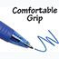 BIC® BU3 Retractable Ballpoint Pen, Bold, 1.0mm, Blue, DZ Thumbnail 4